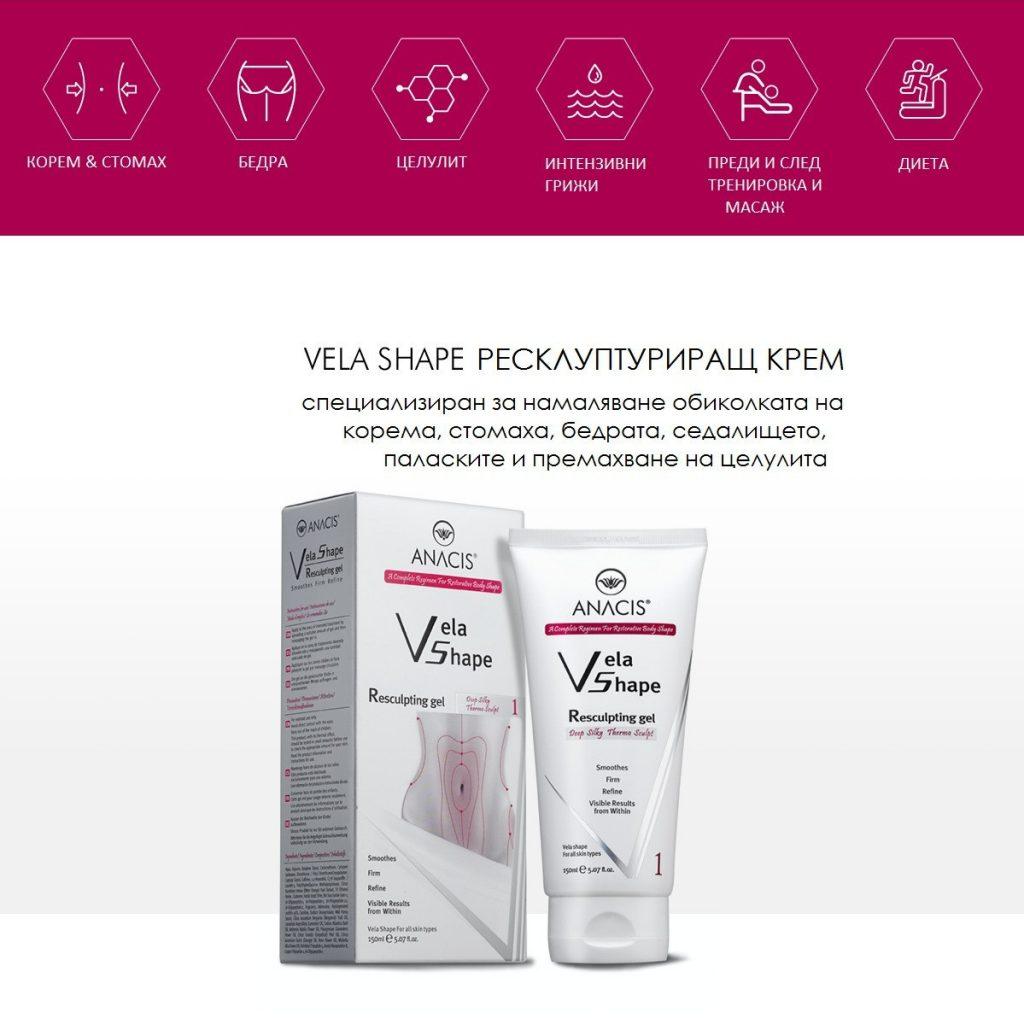 Vela Shape Resculpting Gel